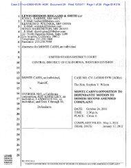 Case 2:11-cv-03800-SVW -AGR Document 29 Filed 10/03/11 Page ...