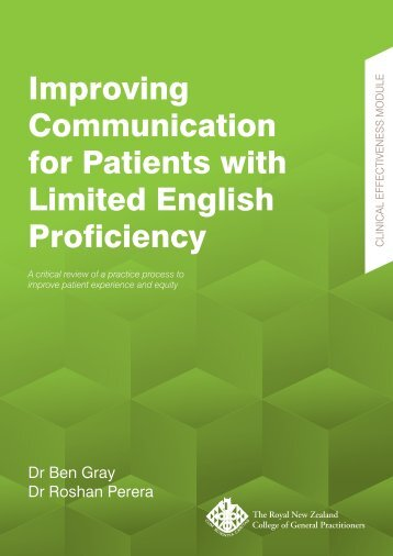 Improving Communication for Patients with Limited English Proficiency