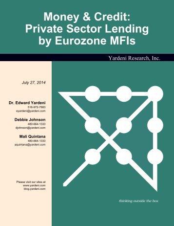 Euro Area MFI Lending