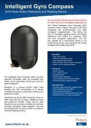 Intelligent Gyro Compass (iGC) - Tritech
