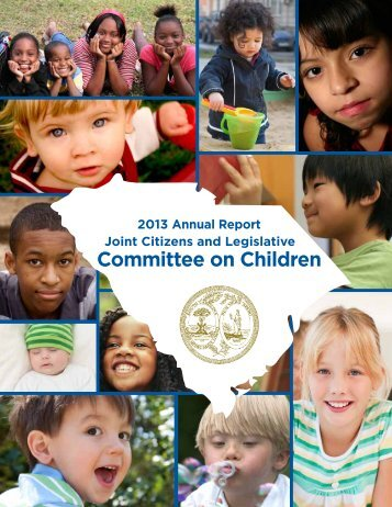 2013 Annual Report - Children's Law Center - University of South ...