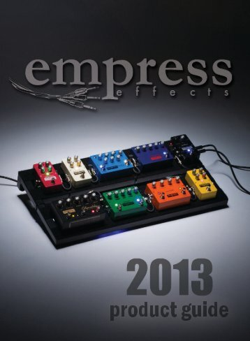 2013 Product Guide - Empress Effects