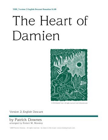 The Heart of Damien - Mondoy Music