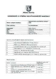 Oznámení o výběru (21/06/2013, pdf, 451.84 kB) - Semily