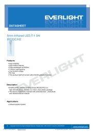 5mm Infrared LED,T-1 3/4 IR333C/H2 - Everlight.com