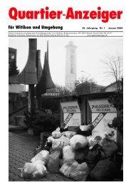 für Witikon und Umgebung - Quartier-Anzeiger für Witikon - Quartier ...