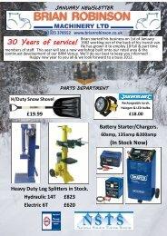 30 Years of service! - Brian Robinson Machinery