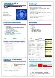 Hyperthyr. radiojód-terápiája - Nukleáris Medicina Intézet