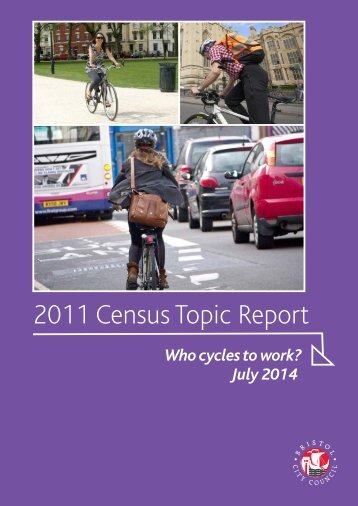 2011 Census Topic Report - Who cycles to work v2