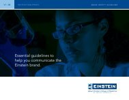Guidelines - Albert Einstein College of Medicine - Yeshiva University
