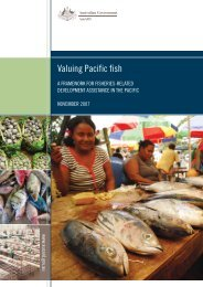Valuing Pacific Fish - An Ocean for Growth and Stability - AusAID