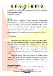 Uma análise da semiótica peirciana, aplicada ao anúncio da ...