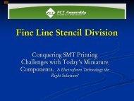 Principles of Better Stencils - SMTA