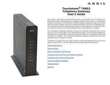 Ct 852 Manual