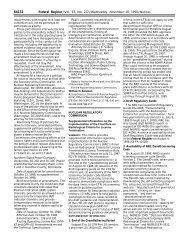 Federal Register/Vol. 63, No. 222/Wednesday, November 18, 1998 ...