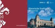 Imagebroschüre Pixi - Historische Stadthalle Wuppertal