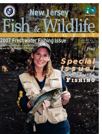 New Jersey New Jersey - Division of Fish and Wildlife - State of New ...