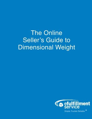 Online-Sellers-Guide-to-Dimensional-Weight