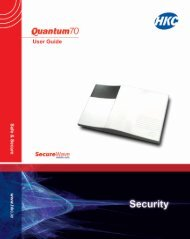 Quantum 70 (Wireless) User Manual - HKC