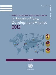 In Search of New Development Finance Overview