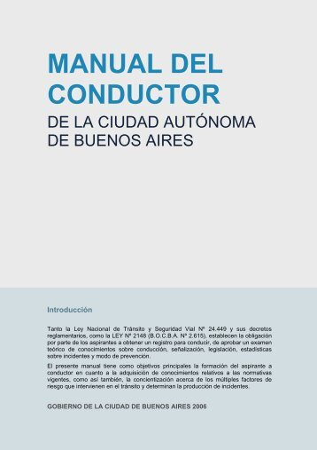 Manual del Conductor (CABA) - volver al registro