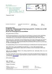 Professioneller Brief - IB GmbH