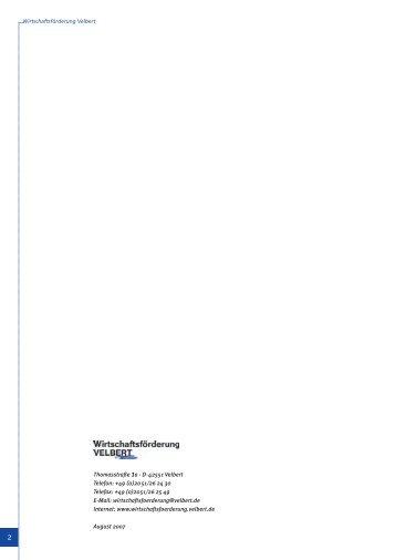 Geschäftsbericht (pdf, 3,5 MB) - Wirtschaftsförderung Velbert - Stadt ...