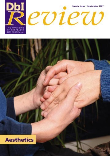 DbI Review Klaus.indd - Deafblind International