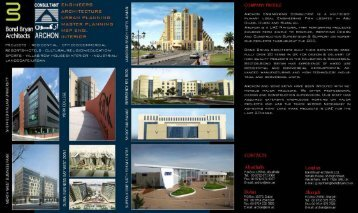 view Joint Venture Profile in PDF Format - Archon Engineering ...