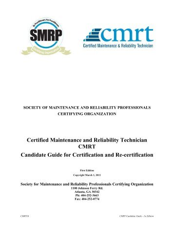 candidate guide for certification and re certification society for rh yumpu com Certificate Templates Microsoft Certification