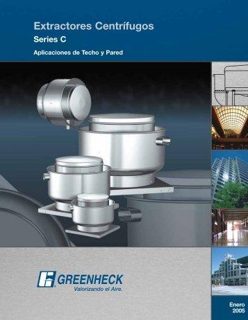 extractores centrífugos de techo y pared - Greenheck