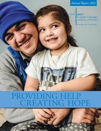 providing help creating hope - Catholic Charities Annual Report