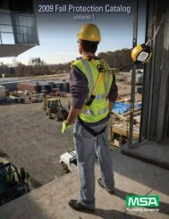 MSA Fall Protection - 5 Alarm Fire and Safety Equipment