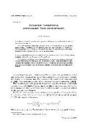 t - Matematychni Studii