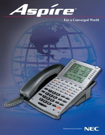 aspire pcpro webpro installation manual support nec unified rh yumpu com NEC Aspire 22B NEC Aspire Manual Installation