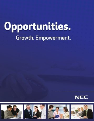 Growth. Empowerment. - NEC Display Solutions