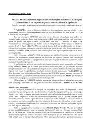 FUJIFILM apresenta novidades em câmeras digitais, impressoras e ...