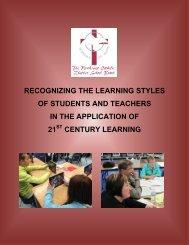 21st Century Learning - The Northwest Catholic District School Board