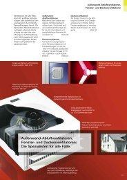 Und Deckenventilatoren - HELIOS Ventilatoren