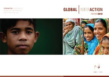 Annual report 2010 - Global Interaction