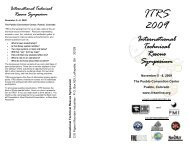 ITRS Brochure 2009 - Rescue Response Gear