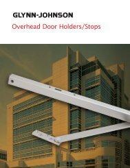 Overhead Door Holders/Stops - Security Technologies