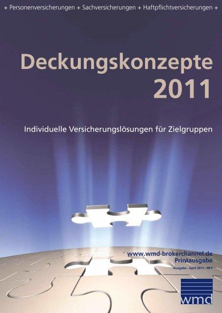 Deckungskonzepte 2011 - WMD Brokerchannel