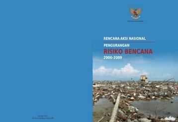 rencana aksi nasional pengurangan risiko bencana 2006 ... - UNDP