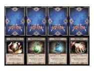 Anima Tactics Advantage Cards