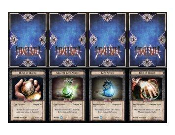 Anima Tactics Advantage Cards