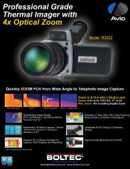 Professional Grade Thermal Imager with 4x Optical Zoom - soltec