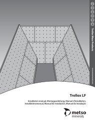 Installing, Montage, Fixation, Montering, Montaje, Montagem - Metso