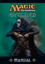 Magic Online Manual - Wizards of the Coast