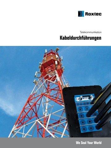 Roxtec Telecom brochure